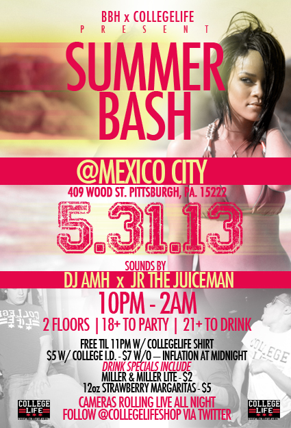Summer Bash May 31 2013