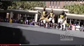 #GREEKLIFE: Iotas Perform Dlow Shuffle Stroll (Video)