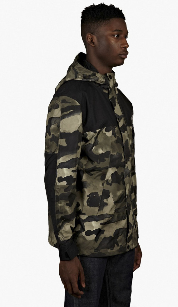 339e925936768 Official College Life The North Face Metro Mountain Parka – Olive ...