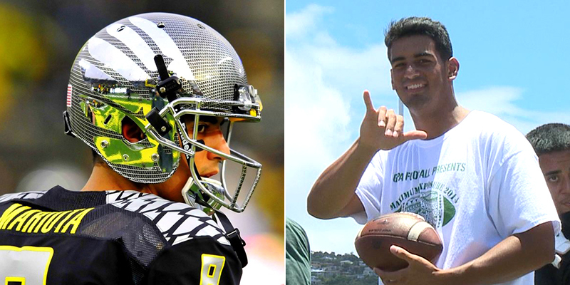 Marcus mariota could be the first hawaiian to win the heisman trophy