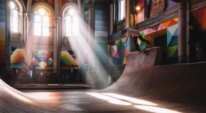 #DOPE: Converted Church Becomes Colorful Skate Park (Photos)
