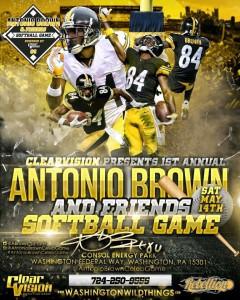 Antonio Brown Celebrity Game