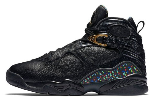 "THE AIR JORDAN 8 RETRO ""CONFETTI"" CELEBRATES WINNING ON THE ROAD (Photos & Details)"