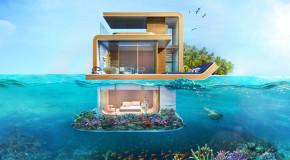 #DOPE: Sleep Underwater in Dubai's Luxurious Floating Seahorse Villas (VIDEO)