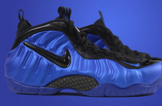 "#SNEAKERHEADS: THE NIKE AIR FOAMPOSITE PRO ""HYPER COBALT"" LAUNCHES NEXT WEEK"