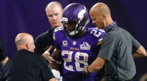 #NFL: Minnesota Vikings Star Adrian Peterson Will Undergo Knee Surgery on Thursday; Could Miss 3-4 Months