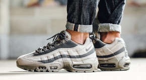 "Nike Gives the Air Max 95 a Smooth ""Light Taupe"" Treatment (Photos)"