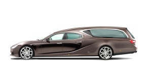 #AUTO: The Maserati Hearse Helps Make Your Last Ride Count (Photos)