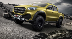 #DOPE: Mercedes-Benz Unviels Their First Pick Up Truck