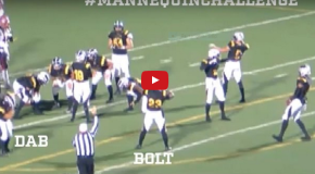 VIDEO: This Mannequin Challenge Might Have Helped a High School Football Team Win a Game