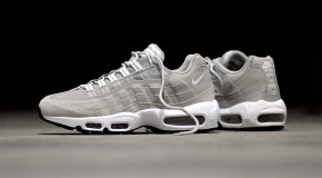 """#SNEAKERHEADS: Nike Wraps the Iconic Air Max 95 Silhouette In """"Granite"""" (Photos)"""