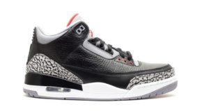 "#SNEAKERHEADS: Air Jordan 3 ""Black/Cement"" Rumored to Launch in 2018"
