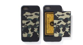 #DOPE: Stash Your Credit Card in BAPE's New Camo iPhone 7 Case