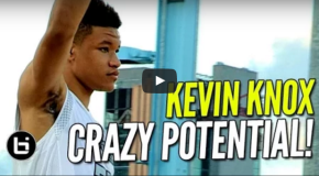 17-YEAR OLD SENIOR KEVIN KNOX TURNED DOWN A $1.4 MILLION OFFER TO PLAY IN CHINA