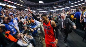 Above The Rim: OKC Thunder Star Russell Westbrook Scores 50 Points & Makes History With 42 Single Season Triple-Doubles (Video)
