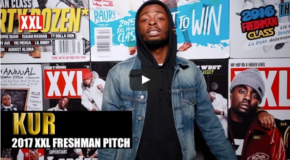 Kur's Pitch for 2017 XXL Freshman (VIDEO)