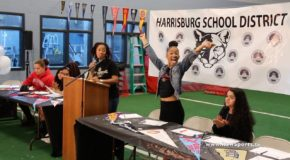 "[VIDEO] Harrisburg High Academic & Career ""Senior Signing Day"""