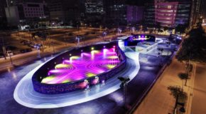 #DOPE: Nike's Unlimited Stadium in Manila Is an LED Running Track of Dreams