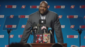 #GAMERS: Shaquille O'Neal to Grace the Cover of 'NBA 2K18 Legend Edition' (VIDEO)