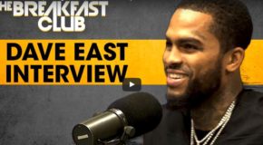 Dave East Talks 'Paranoia,' Upcoming Music with Drake & More on 'The Breakfast Club'