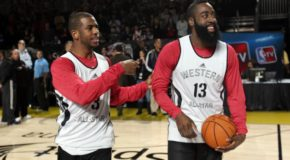CP3 & James Harden's Highlights From Playing Together at Drew League (Video)
