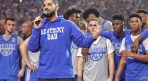 Drake Returns to Kentucky Wildcats's Big Blue Madness Event (VIDEO)